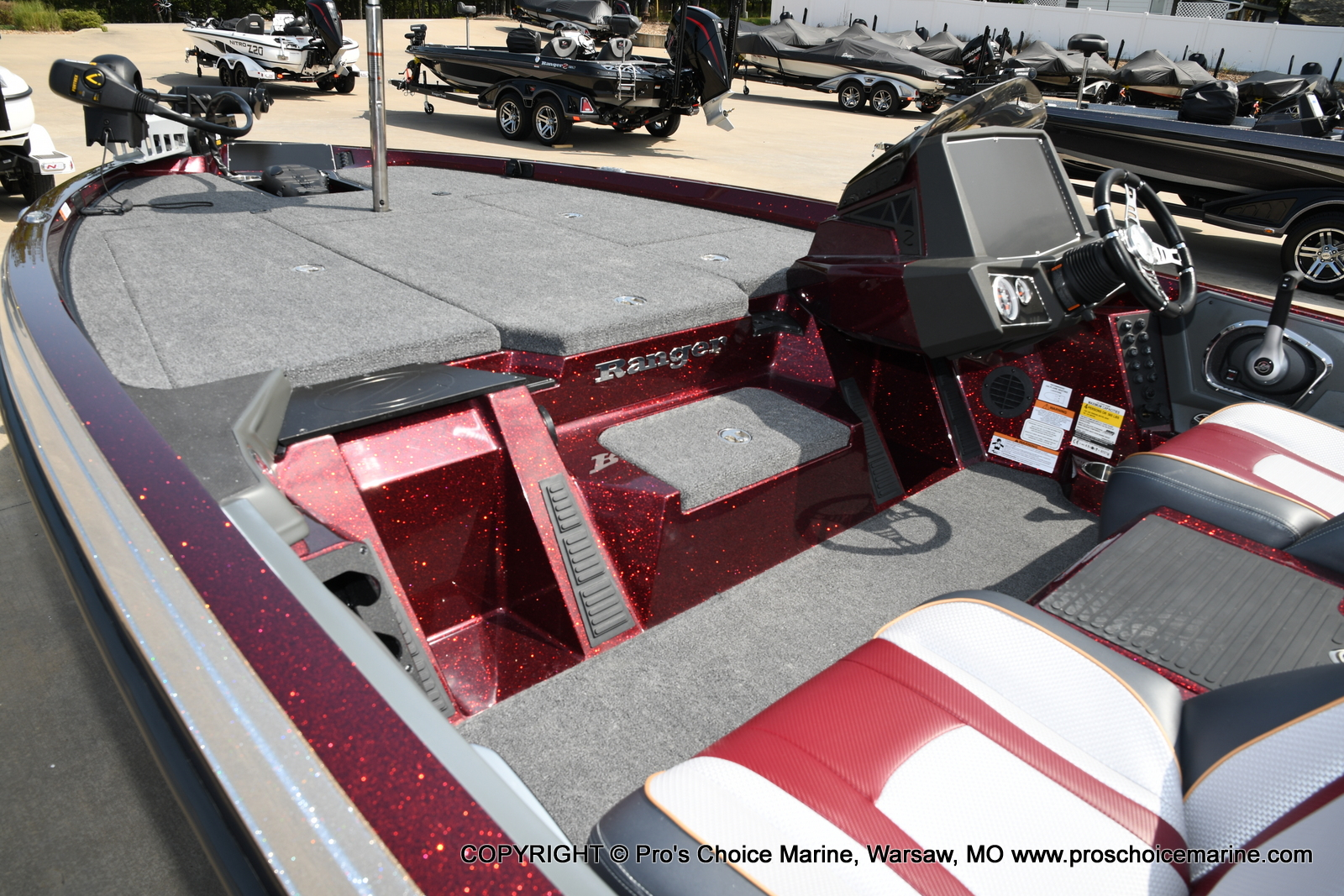 2021 Ranger Boats boat for sale, model of the boat is Z518 & Image # 28 of 50