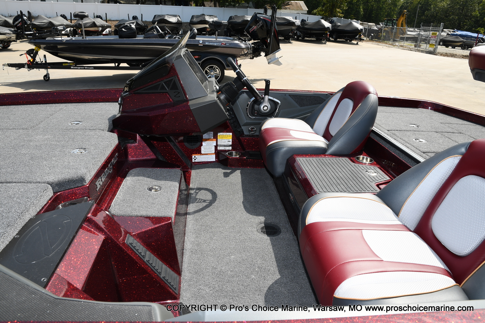 2021 Ranger Boats boat for sale, model of the boat is Z518 & Image # 42 of 50