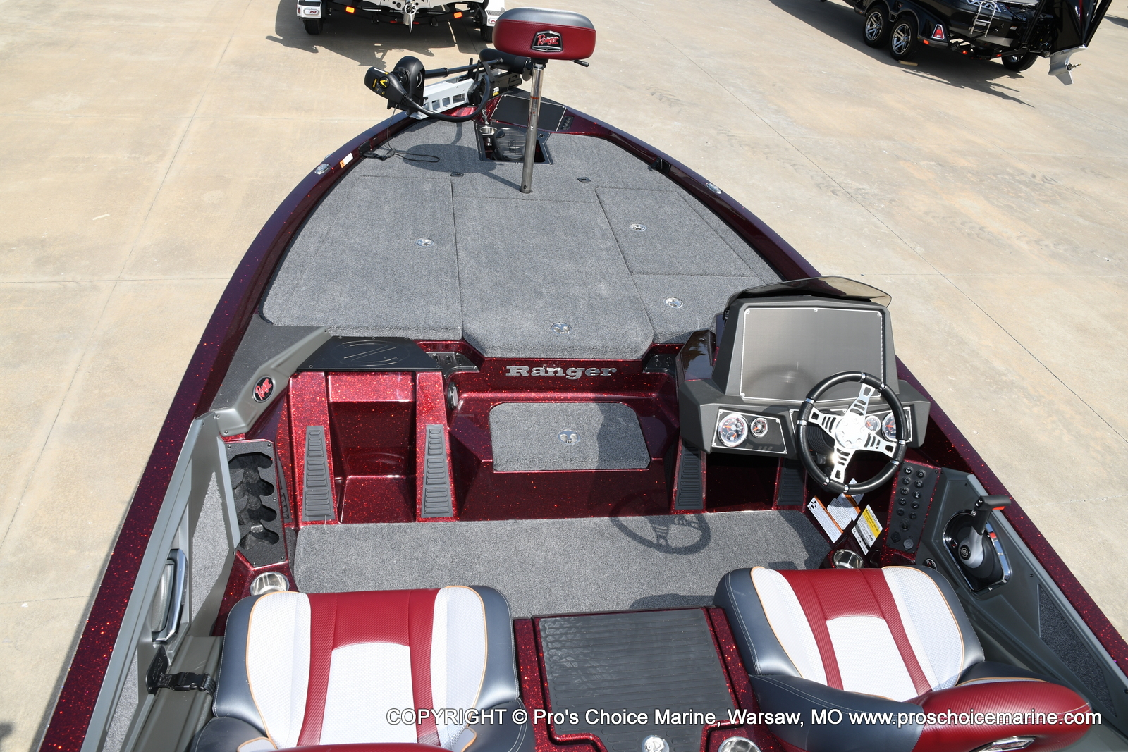 2021 Ranger Boats boat for sale, model of the boat is Z518 & Image # 43 of 50