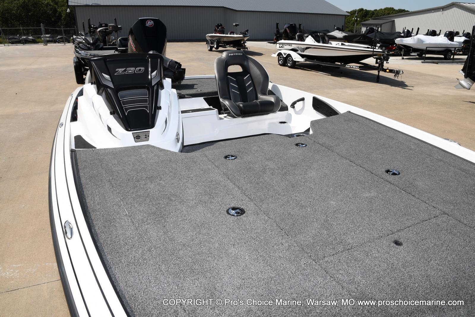 2021 Nitro boat for sale, model of the boat is Z20 & Image # 31 of 50