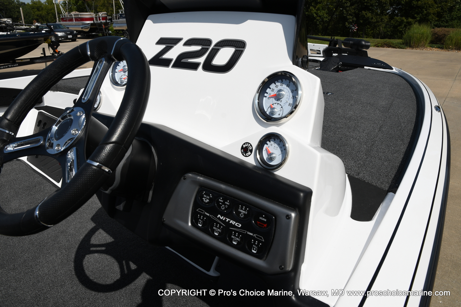 2021 Nitro boat for sale, model of the boat is Z20 & Image # 42 of 50