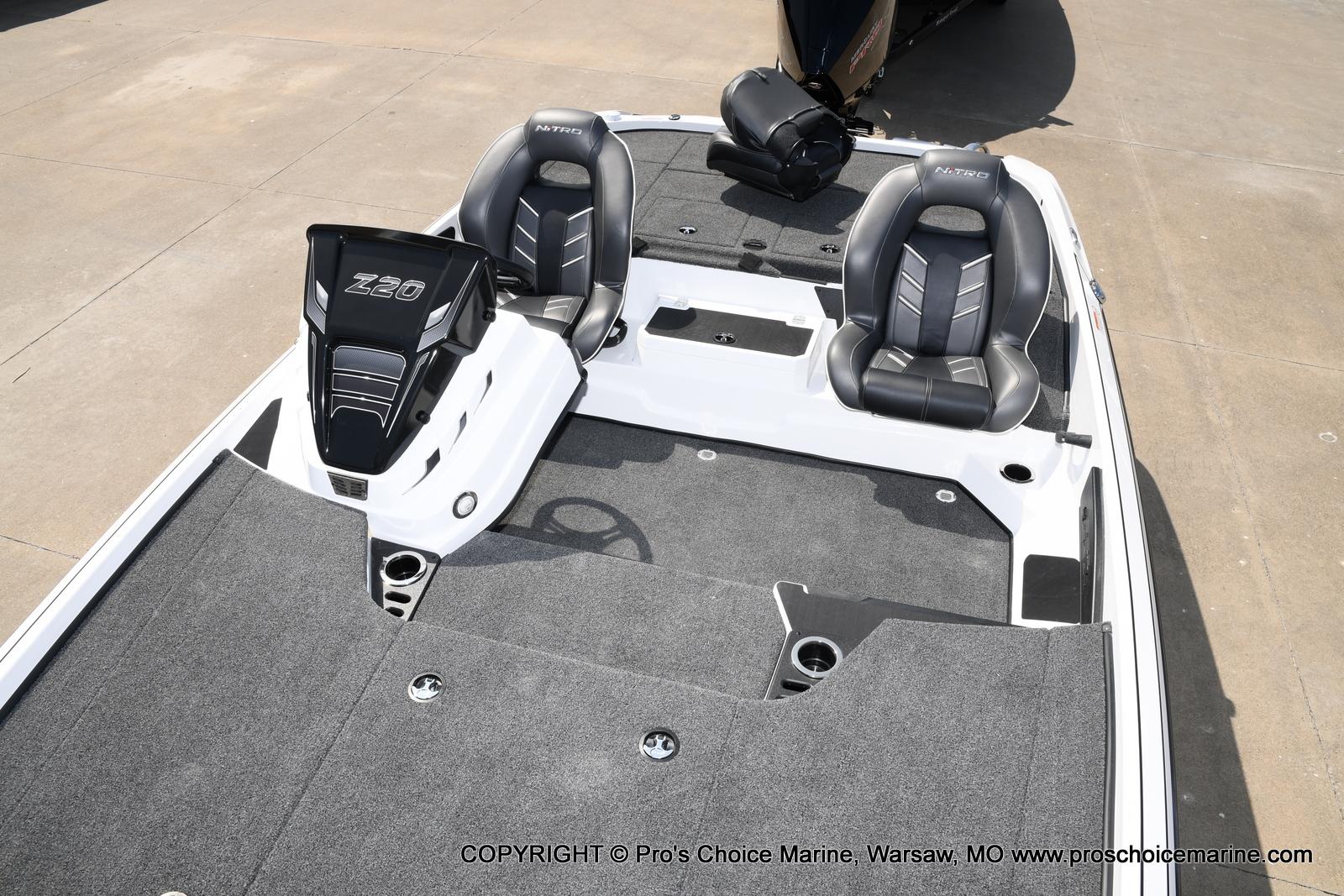 2021 Nitro boat for sale, model of the boat is Z20 & Image # 47 of 50