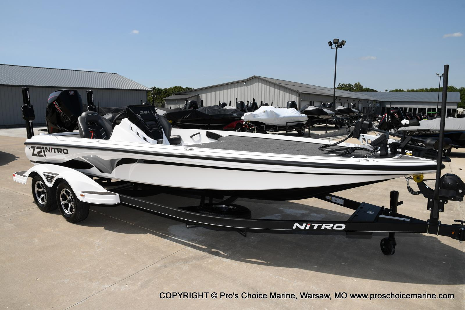 2021 Nitro boat for sale, model of the boat is Z21 Pro Package & Image # 26 of 50