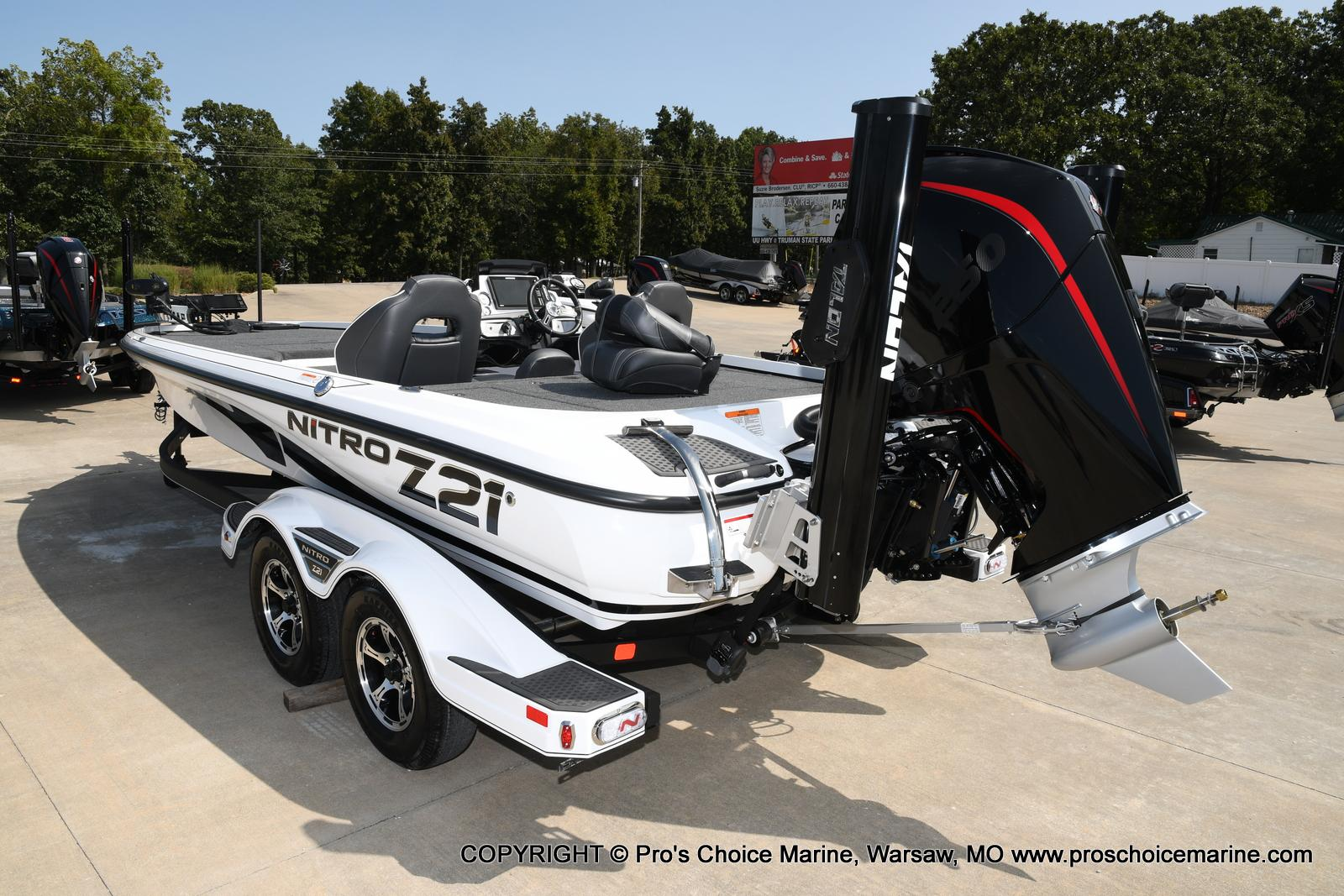 2021 Nitro boat for sale, model of the boat is Z21 Pro Package & Image # 28 of 50
