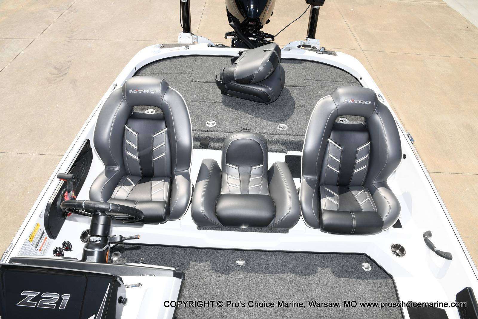 2021 Nitro boat for sale, model of the boat is Z21 Pro Package & Image # 36 of 50