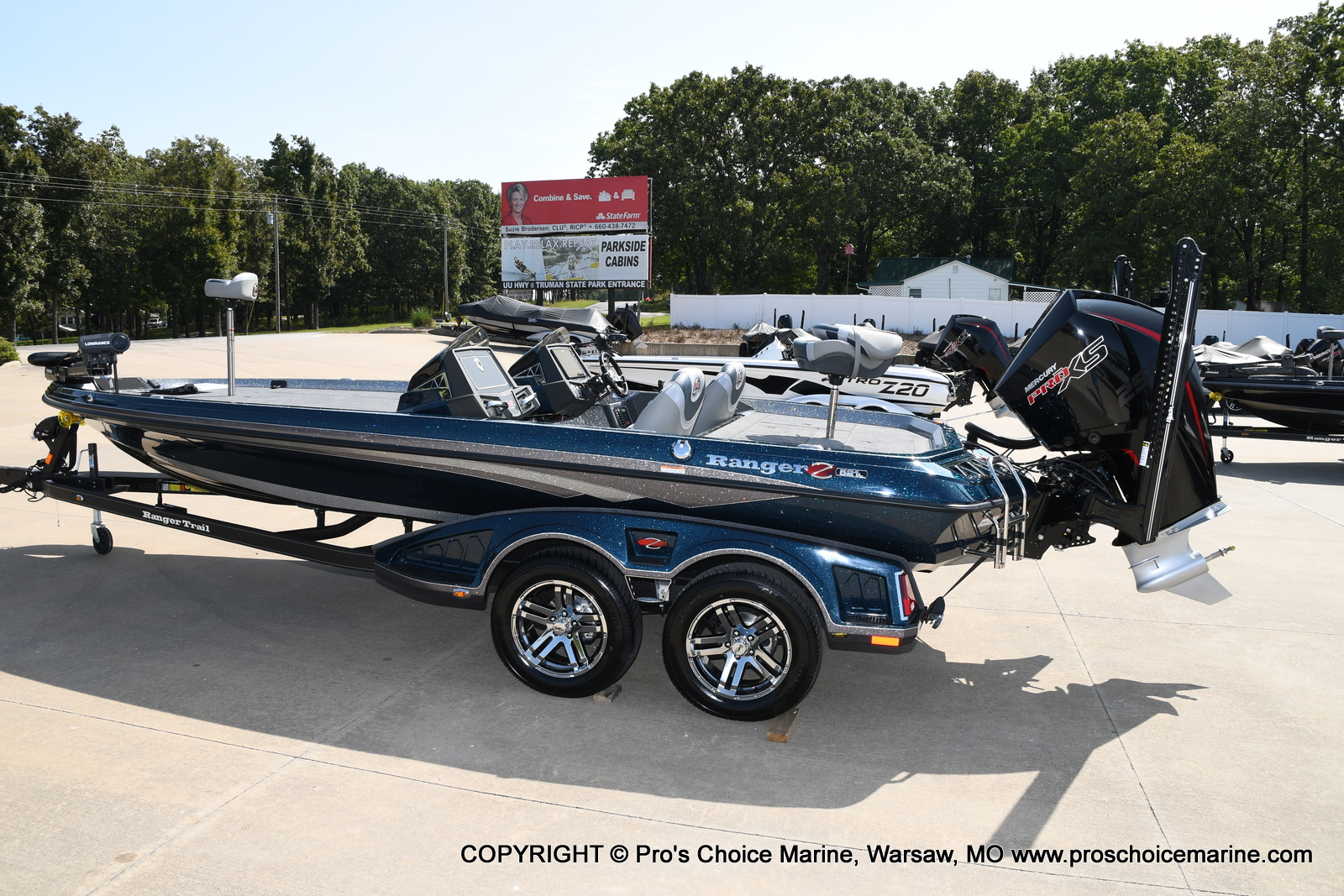2021 Ranger Boats boat for sale, model of the boat is Z521L Cup Equipped DUAL CONSOLE & Image # 21 of 50