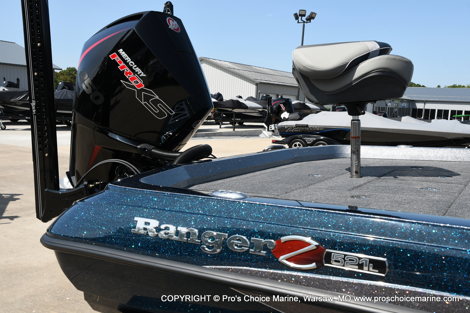 2021 Ranger Boats boat for sale, model of the boat is Z521L Cup Equipped DUAL CONSOLE & Image # 46 of 50