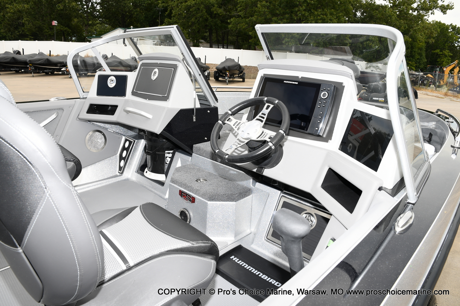 2021 Ranger Boats boat for sale, model of the boat is 620FS Pro w/300HP Verado & Image # 6 of 50