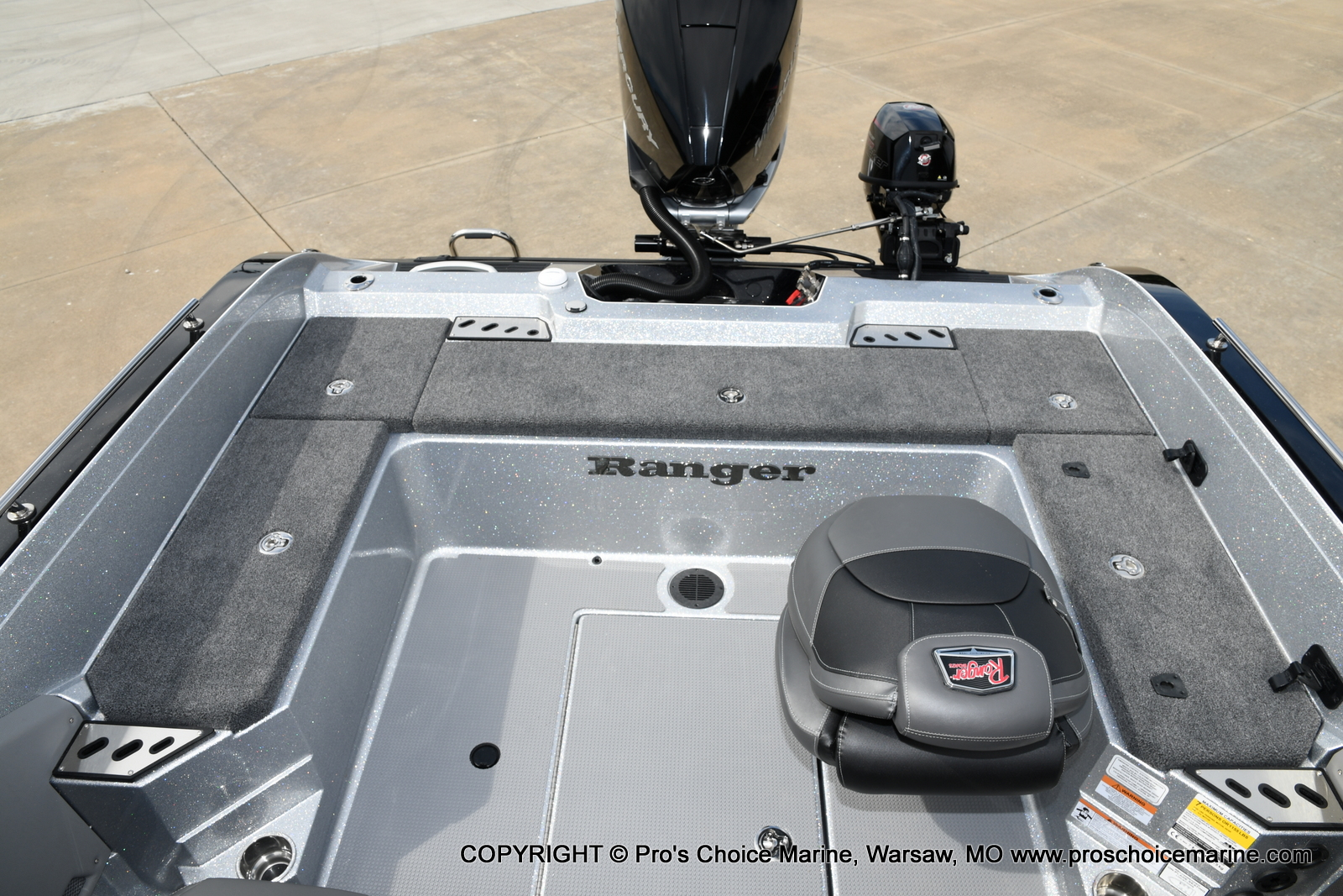 2021 Ranger Boats boat for sale, model of the boat is 620FS Pro w/300HP Verado & Image # 17 of 50