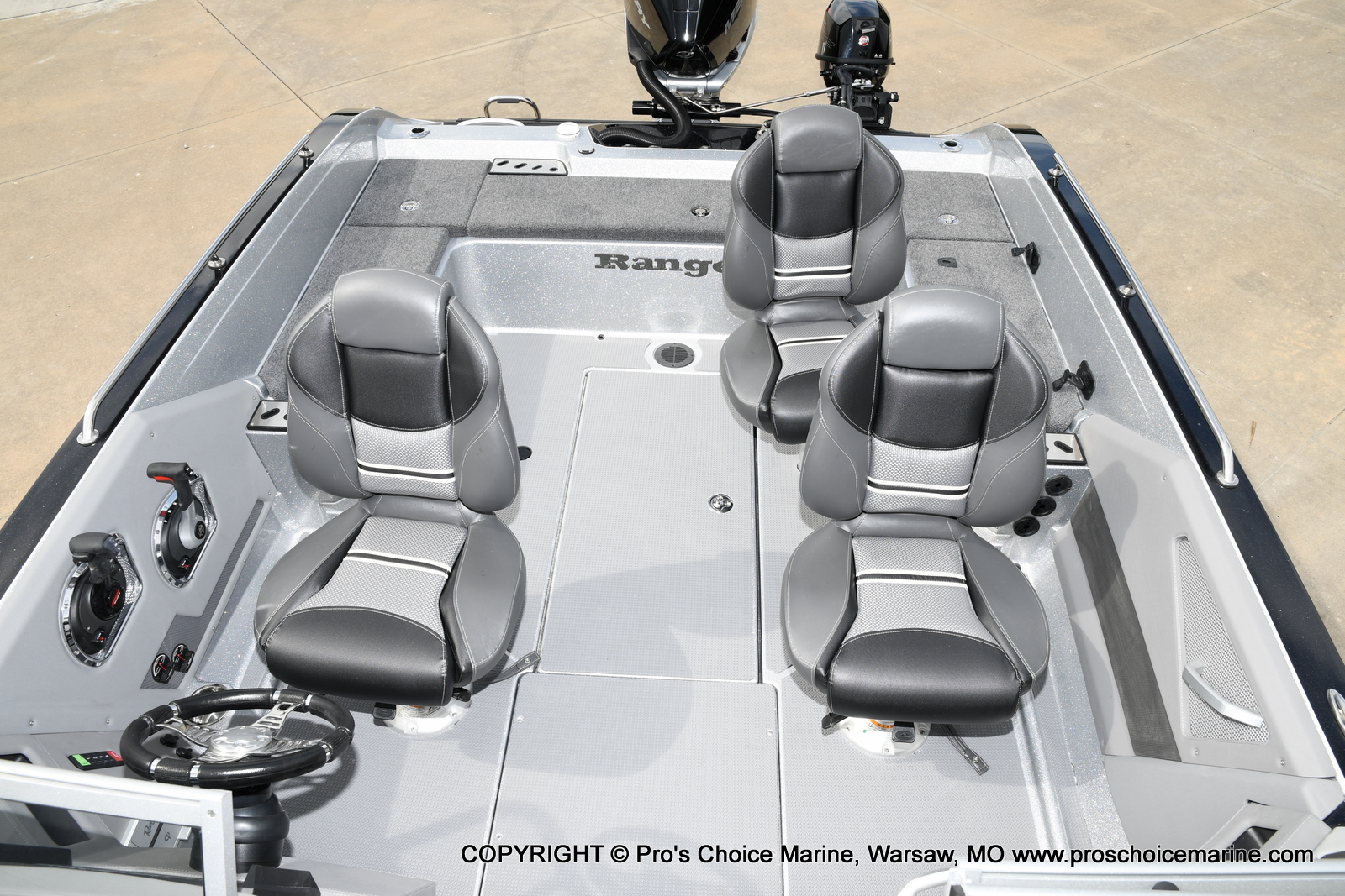 2021 Ranger Boats boat for sale, model of the boat is 620FS Pro w/300HP Verado & Image # 32 of 50