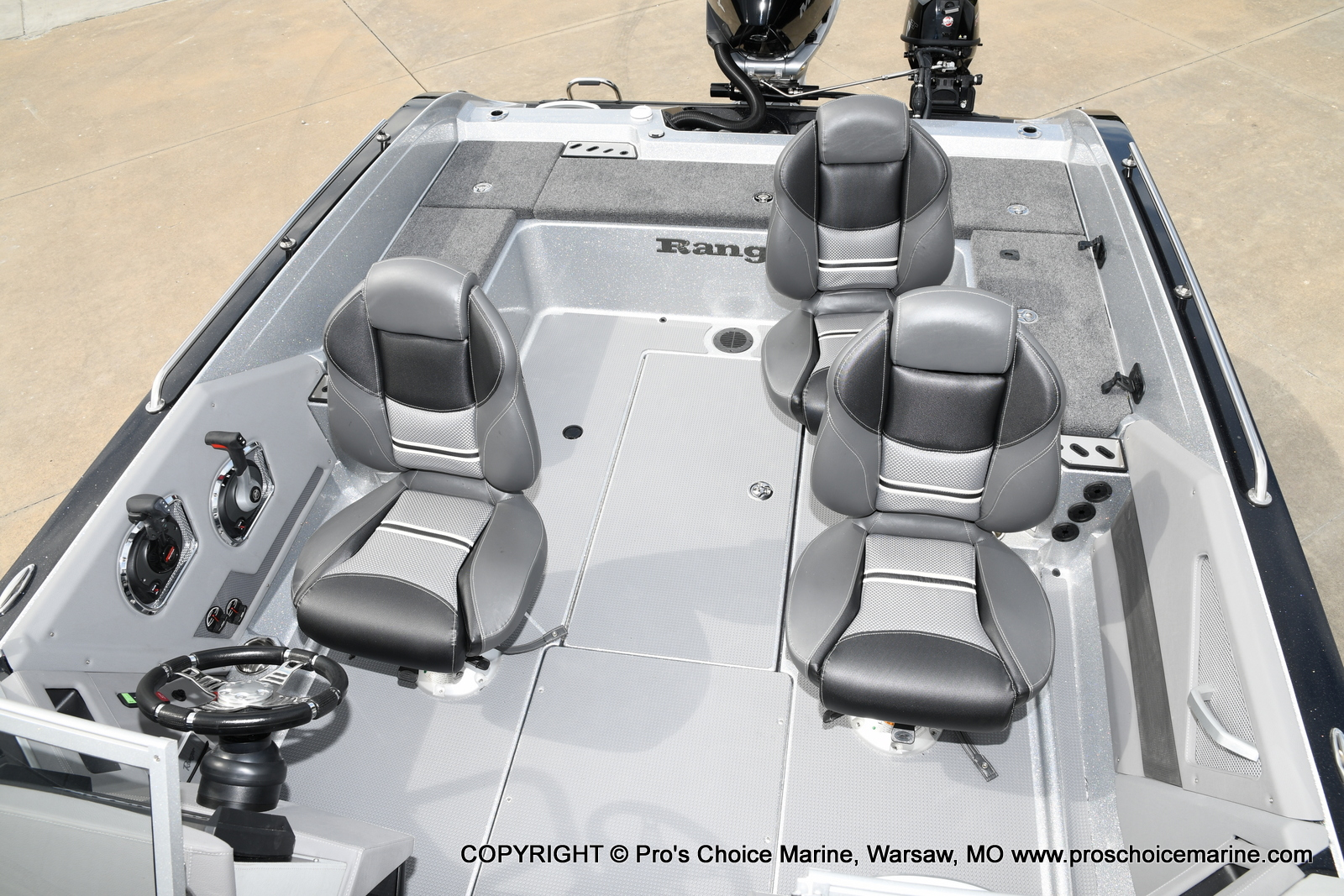 2021 Ranger Boats boat for sale, model of the boat is 620FS Pro w/300HP Verado & Image # 34 of 50