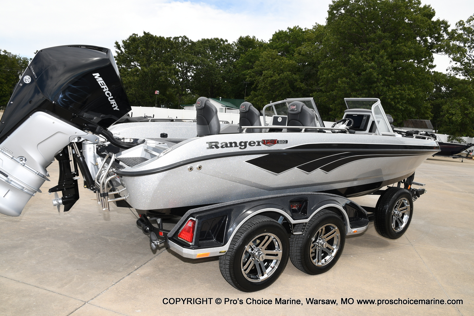 2021 Ranger Boats boat for sale, model of the boat is 620FS Pro w/300HP Verado & Image # 41 of 50