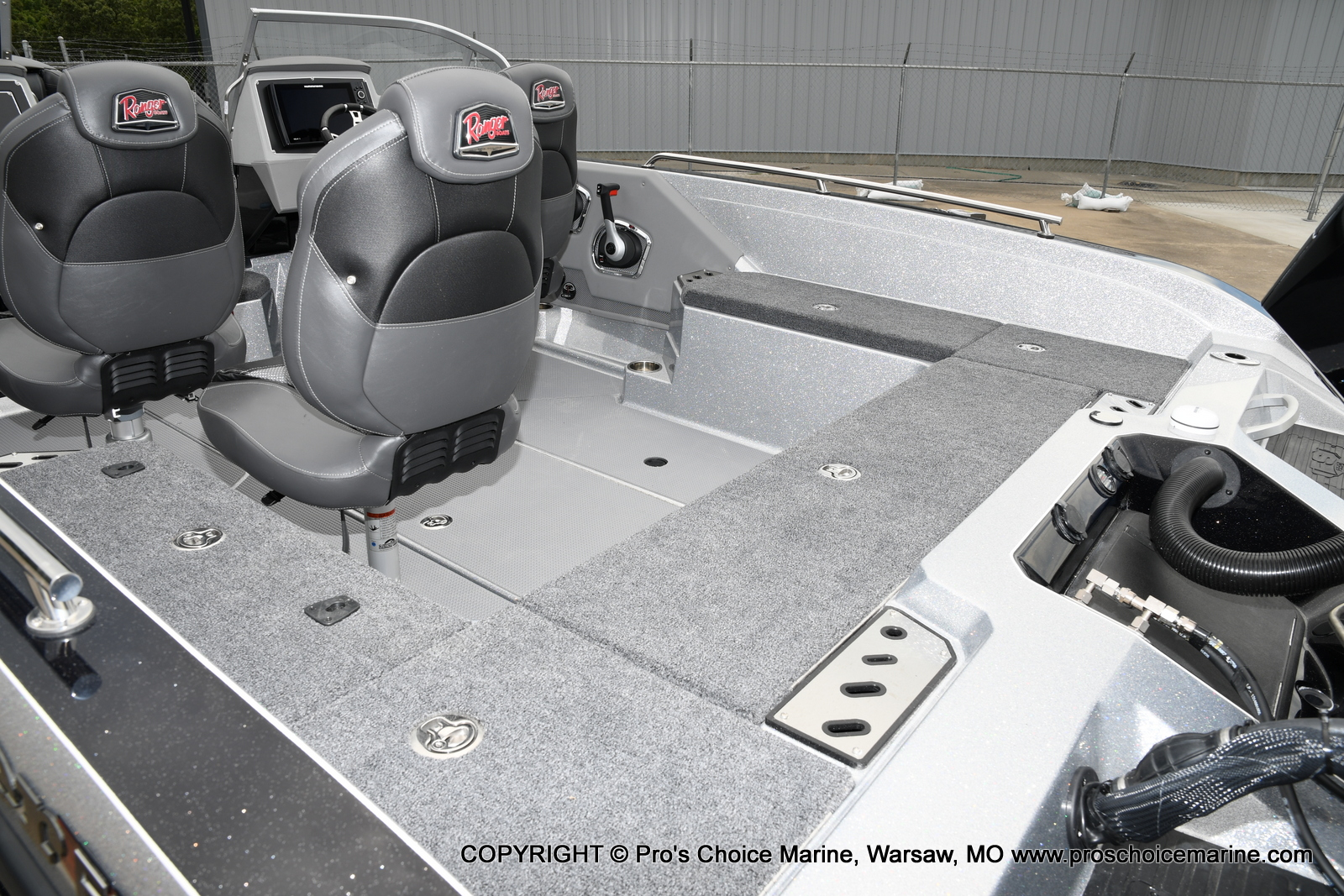 2021 Ranger Boats boat for sale, model of the boat is 620FS Pro w/300HP Verado & Image # 44 of 50