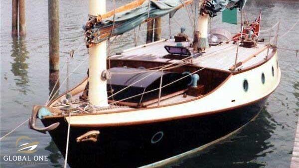 2020 BENFORD 34 Sailing Dory Badger