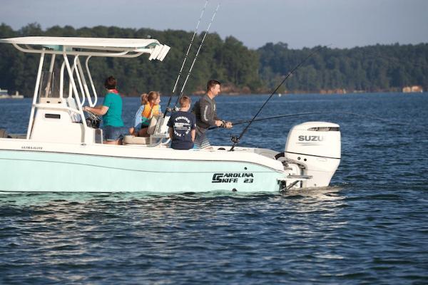 2021 Carolina Skiff boat for sale, model of the boat is 23 Ultra Elite & Image # 2 of 4