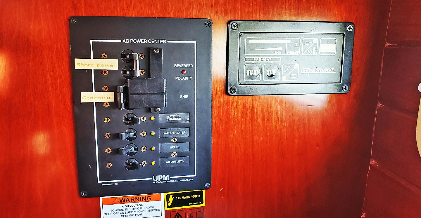 Shore Power Breaker Panel