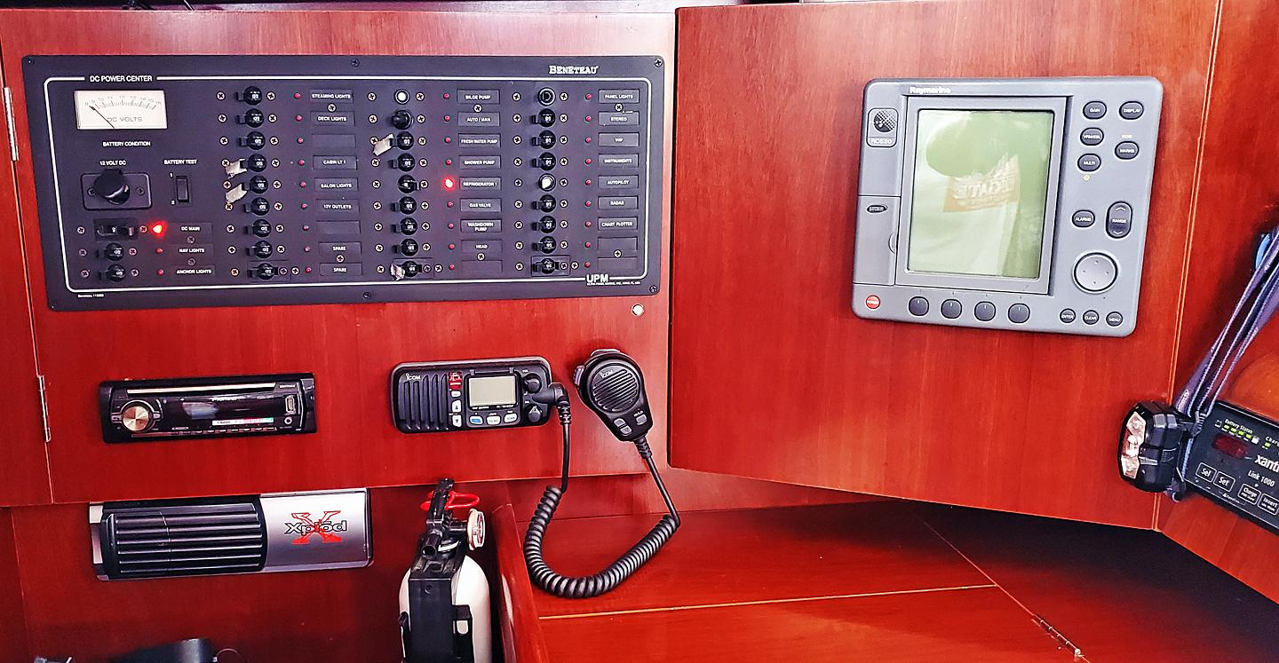 Nav Instruments and Breakers