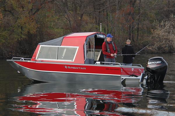 2019 Spartan boat for sale, model of the boat is 185 Astoria & Image # 14 of 27