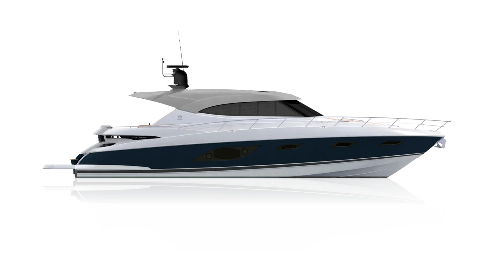 2021 Riviera 6000 Sport Yacht #R099 inventory image at Sun Country Coastal in San Diego
