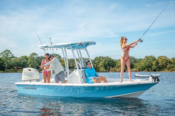 2021 Sea Pro boat for sale, model of the boat is 208 & Image # 2 of 6
