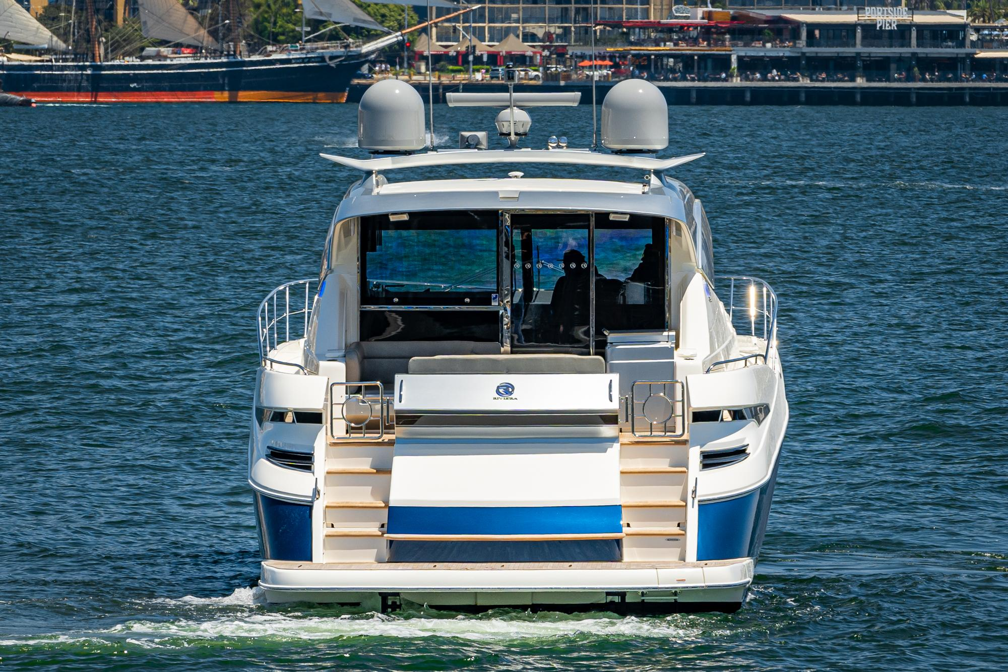 2022 Riviera 6000 Sport Yacht #R107 inventory image at Sun Country Coastal in Newport Beach