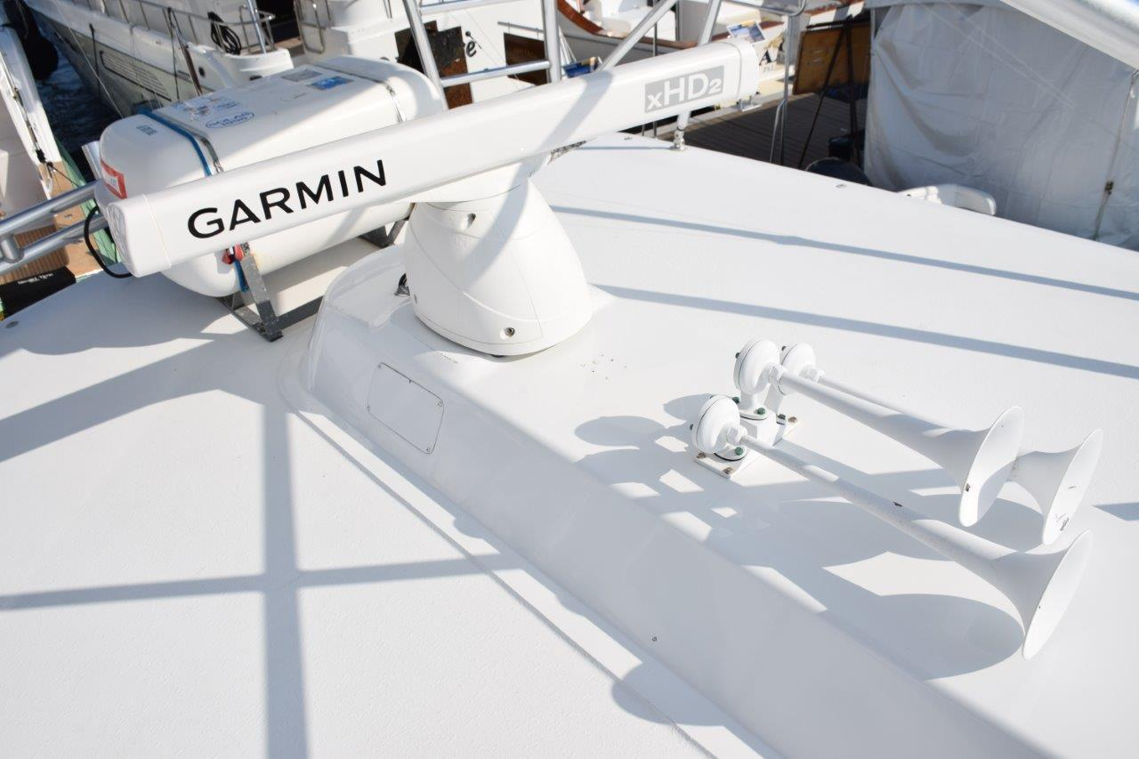 Open array Garmin radar