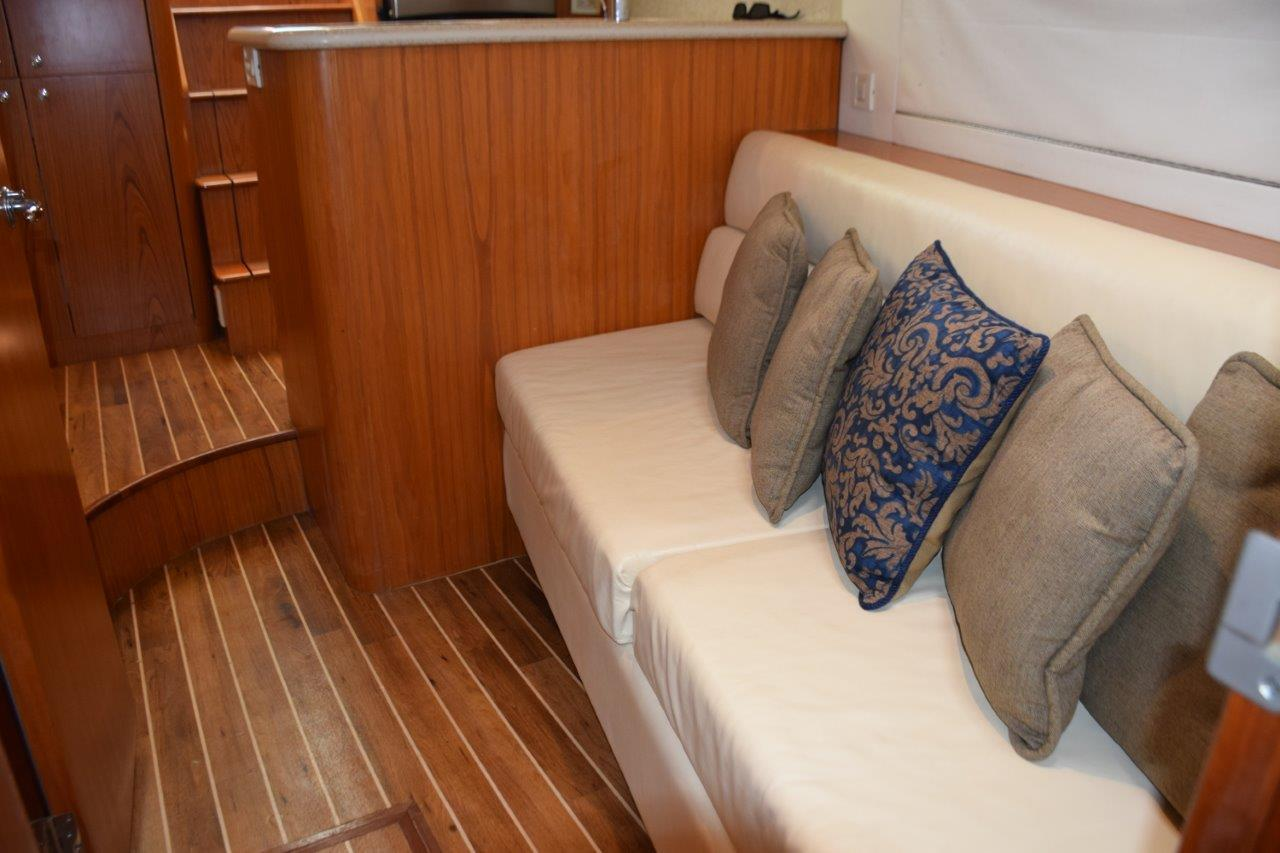 Settee looking aft