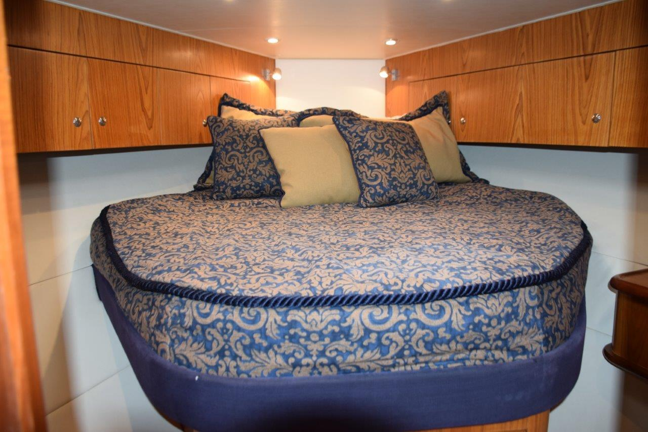 Forward stateroom Double Berth