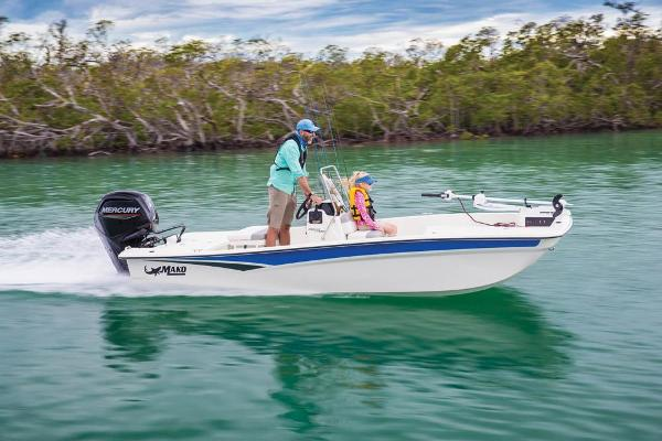 2022 Mako boat for sale, model of the boat is Pro Skiff 17 CC & Image # 6 of 22