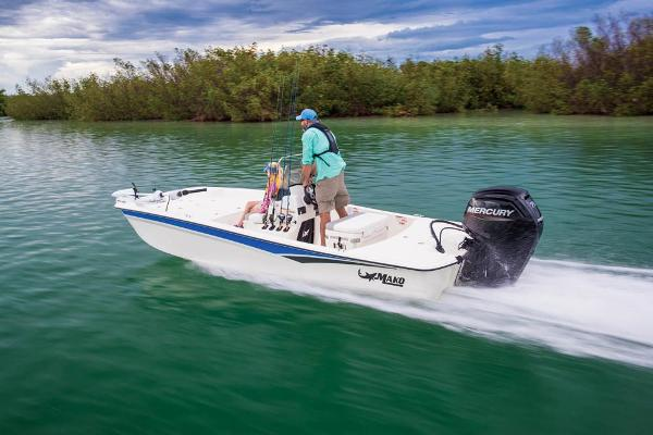 2022 Mako boat for sale, model of the boat is Pro Skiff 17 CC & Image # 8 of 22