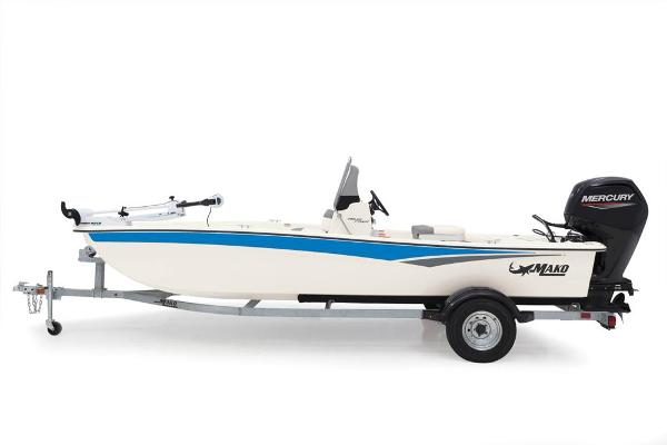 2022 Mako boat for sale, model of the boat is Pro Skiff 17 CC & Image # 9 of 22
