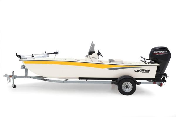 2022 Mako boat for sale, model of the boat is Pro Skiff 17 CC & Image # 13 of 22