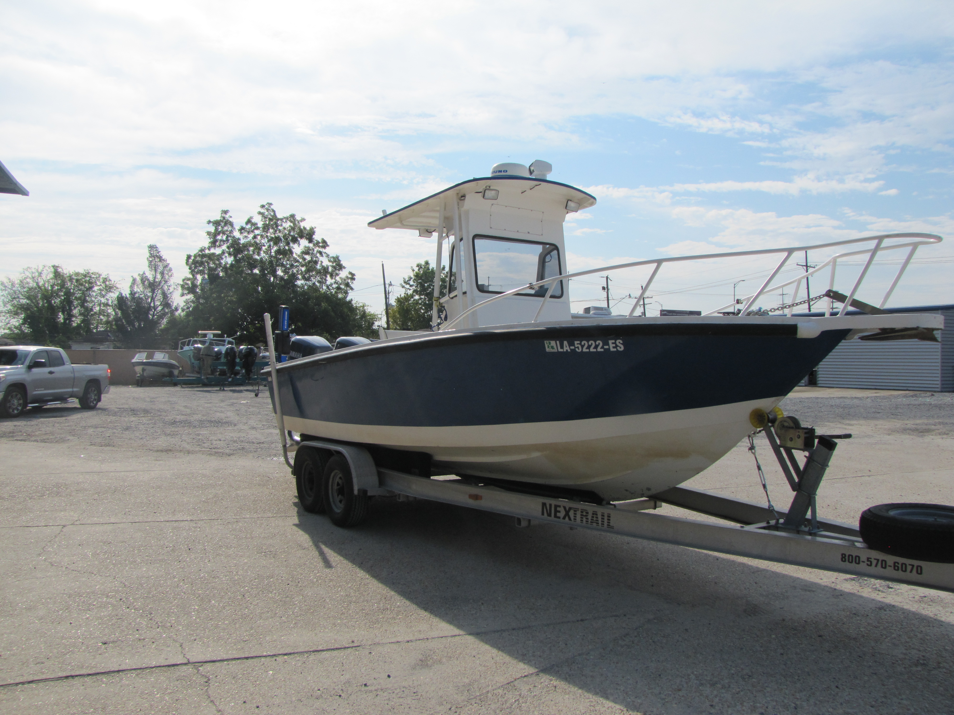 1996 Gravois boat for sale, model of the boat is 23 & Image # 9 of 15