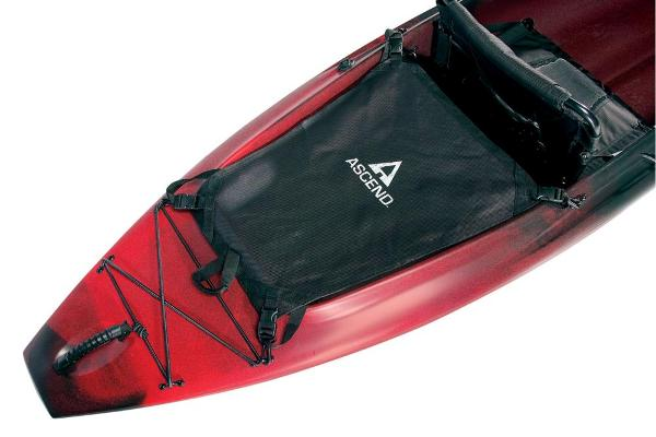 2021 Ascend boat for sale, model of the boat is D10 Sit-In (Red/Black) & Image # 7 of 8