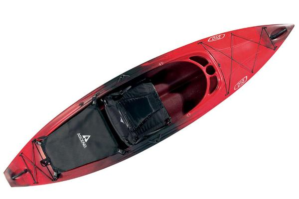 2021 Ascend boat for sale, model of the boat is D10 Sit-In - Red-Black & Image # 8 of 8