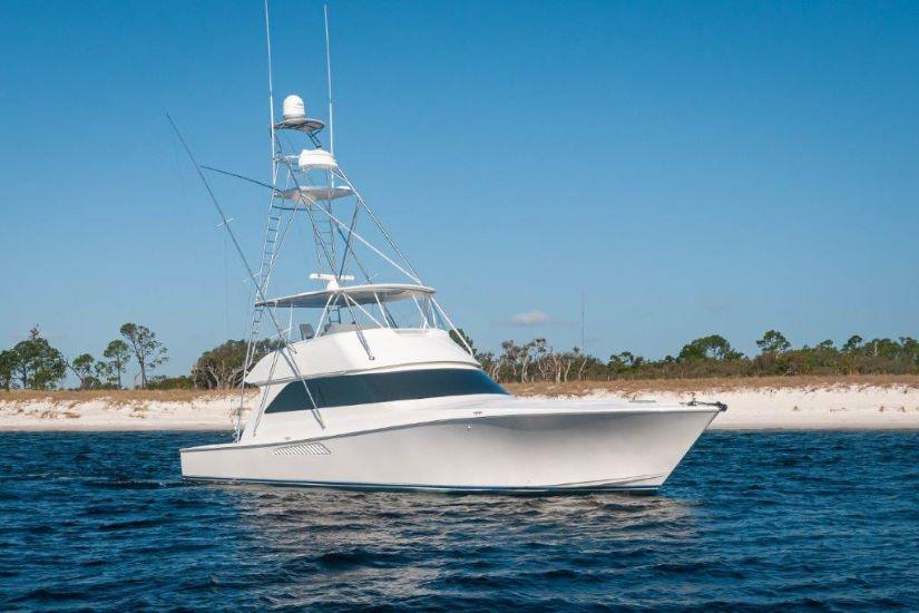 2004 61 Viking Convertible Second Wind Profile