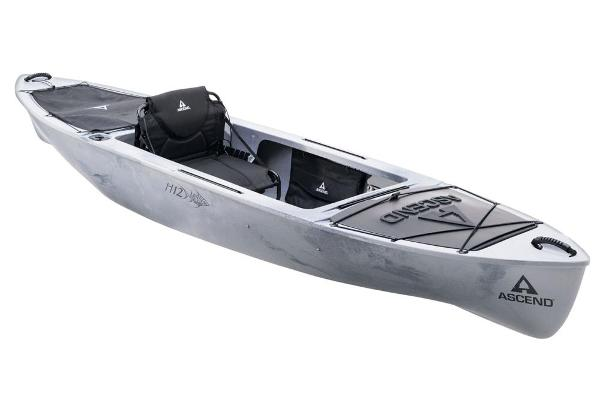 2021 Ascend boat for sale, model of the boat is H12 Hybrid Sit-In - Titanium & Image # 1 of 6