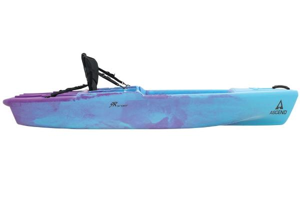 2021 Ascend boat for sale, model of the boat is 9R Sport Sit-On (Blue/Purple) & Image # 2 of 9