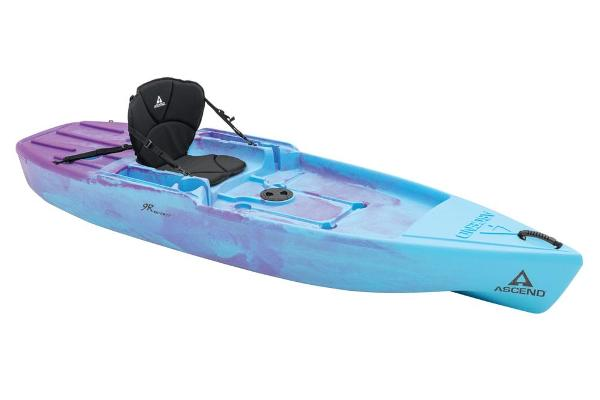2021 Ascend boat for sale, model of the boat is 9R Sport Sit-On - Blue-Purple & Image # 1 of 9