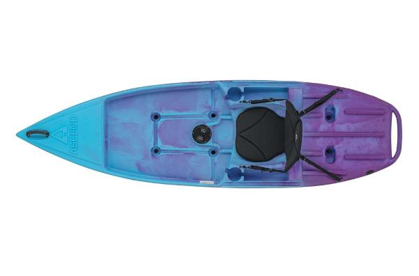 2021 Ascend boat for sale, model of the boat is 9R Sport Sit-On (Blue/Purple) & Image # 6 of 9