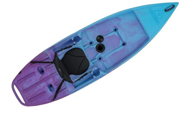 2021 Ascend boat for sale, model of the boat is 9R Sport Sit-On - Blue-Purple & Image # 8 of 9