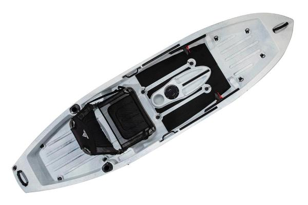 2021 Ascend boat for sale, model of the boat is 10T Sit-On (White/Black) & Image # 4 of 6