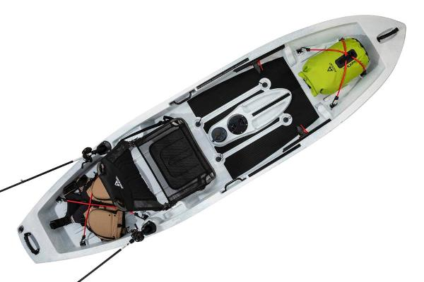 2021 Ascend boat for sale, model of the boat is 10T Sit-On (White/Black) & Image # 6 of 6