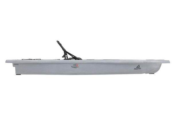 2021 Ascend boat for sale, model of the boat is 133X Yak-Power Sit-On - Titanium & Image # 2 of 18