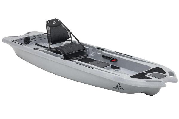 2021 Ascend boat for sale, model of the boat is 133X Yak-Power Sit-On (Titanium) & Image # 1 of 18