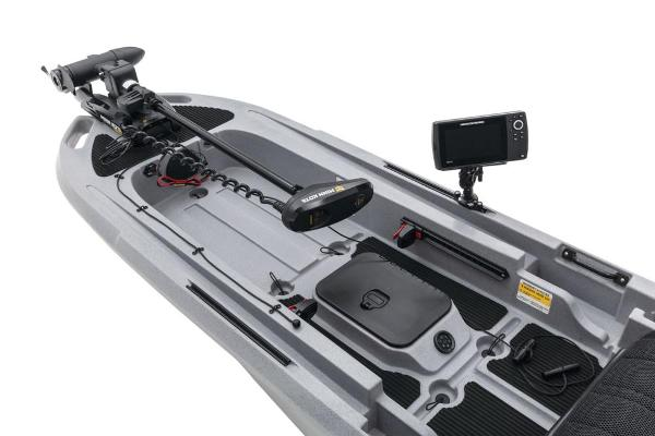 2021 Ascend boat for sale, model of the boat is 133X Yak-Power Sit-On - Titanium & Image # 10 of 18