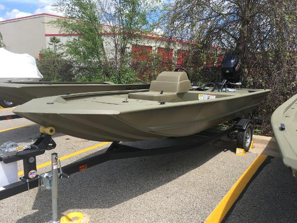 2020 Tracker Boats boat for sale, model of the boat is Grizzly 1648 SC & Image # 1 of 35