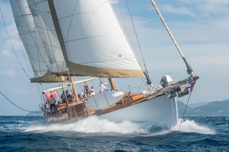 Patrick Balta design Classic Yacht