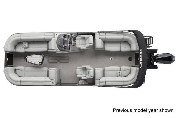 2022 Regency boat for sale, model of the boat is 230 LE3 & Image # 2 of 3