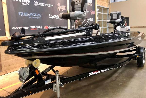 2014 Triton boat for sale, model of the boat is 17 Pro Series & Image # 6 of 18